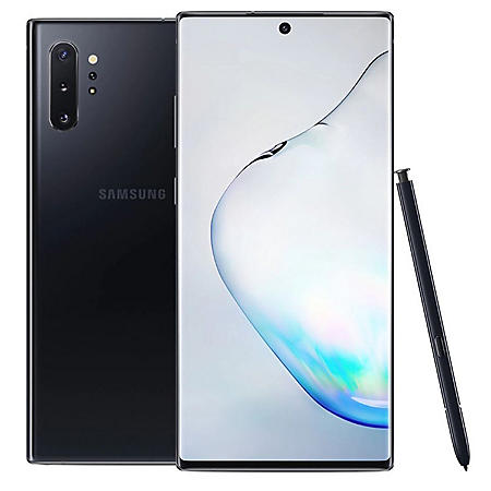 Samsung Galaxy Note10+ Unlocked (Aura Black) - Choose Capacity