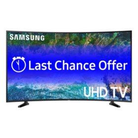 "Samsung 49"" Class Curved 6 Series 4 K Ultra Hd Smart Hdr Tv   Un49 Nu6300 Fxza by Samsung"