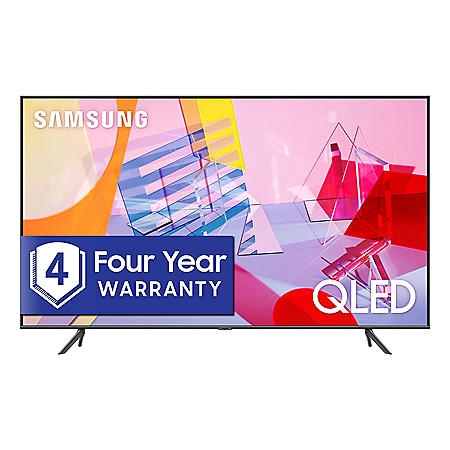 "SAMSUNG 58"" Class Q6DT-Series 4K Ultra HD Smart QLED TV QN58Q6DTAFXZA (2020 Model)"