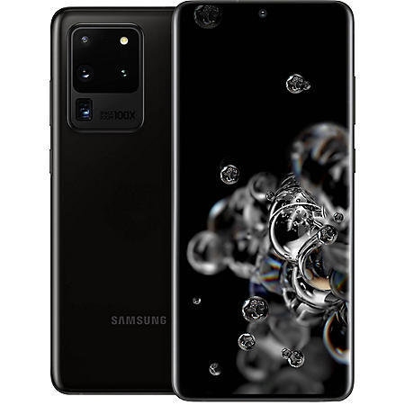Samsung Galaxy S20 Ultra 128GB Unlocked (Choose Color)