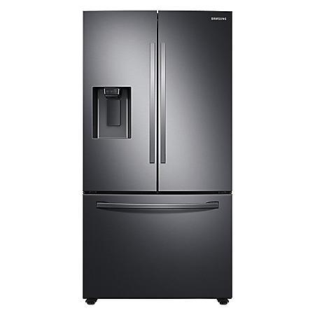 Samsung 27 cu. ft. Large Capacity 3-Door French Door Refrigerator with External Water & Ice Dispenser