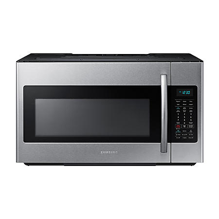 SAMSUNG 2.1 Cu. Ft. Over-The-Range Microwave with Sensor Cooking Controls, Stainless Steel - ME21M706BAS