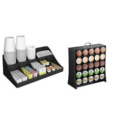 Mind Reader K-Cup Display Rack and Breakroom Organizer