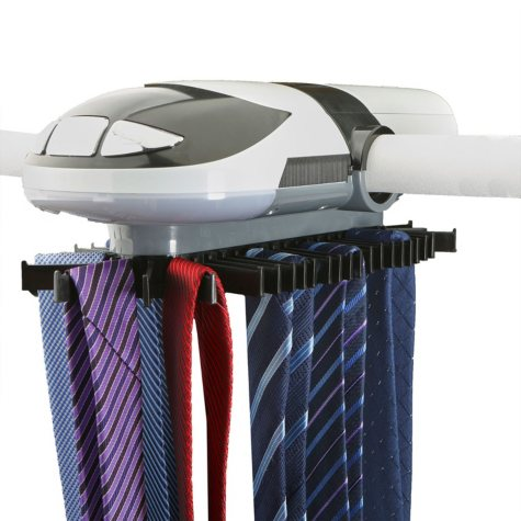 Mind Reader Electric Tie Rack