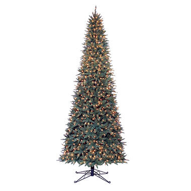 12' Sanford Fir Pre-lit Slim Quick Set®Tree