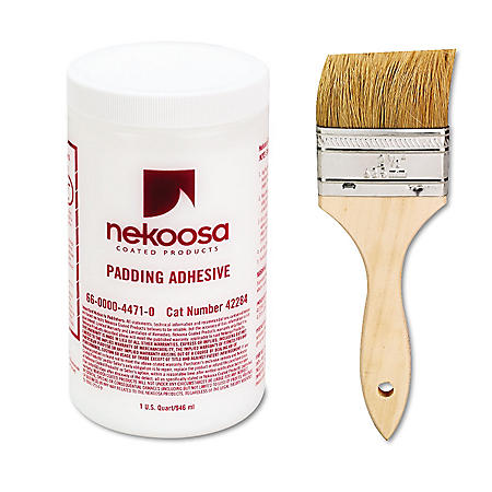 Nekoosa - Coated Products Fan-out Padding Liquid Adhesive (32 oz.)