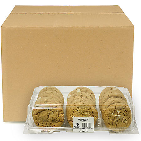Case Sale: Member's Mark White Chunk Macadamia Nut Cookies (144 ct.)