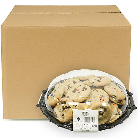 Member's Mark Mini Candy Cookies, Bulk Wholesale Case (360 ct.)
