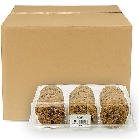 Member's Mark Oatmeal Raisin Cookies, Bulk Wholesale Case (144 ct.)
