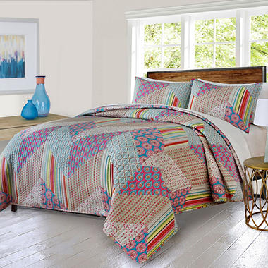 Softesse Chevron Mini Quilt Set (Assorted Sizes)