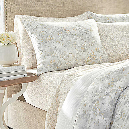 Martha Stewart Aura 3-Piece Comforter Set (Assorted Sizes)