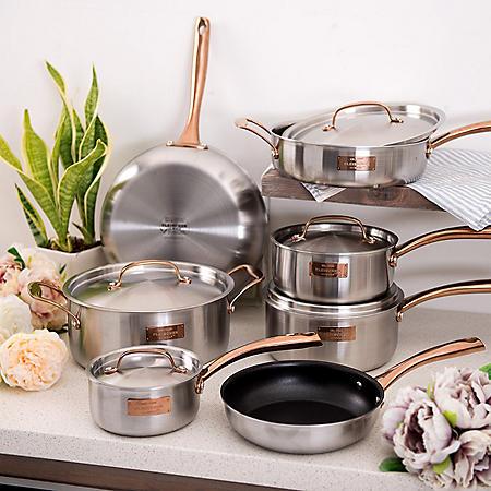 Fleischer and Wolf London Tri-Ply 12-Piece Cookware Set