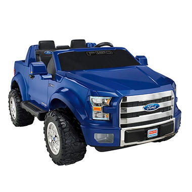 Fisher-Price Power Wheels F-150 12V, Blue