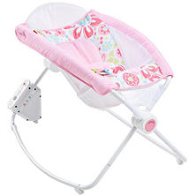 Fisher Price Newborn Auto Rock 'n Play Sleeper, Floral Confetti