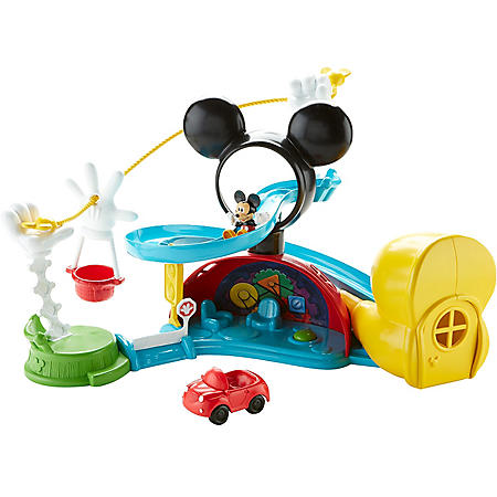Fisher-Price Disney Mickey Mouse Clubhouse Zip, Slide & Zoom Clubhouse