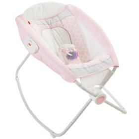Fisher-Price Rock 'n Play Sleeper, Pink