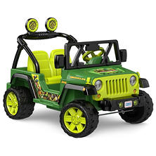 Fisher-Price Power Wheels Nickelodeon Teenage Mutant Ninja Turtles Jeep Wrangler
