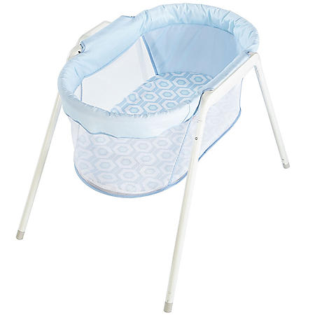 Fisher-Price Stow 'n Go Bassinet, Blue