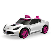 Fisher-Price Power Wheels Corvette 6V, White