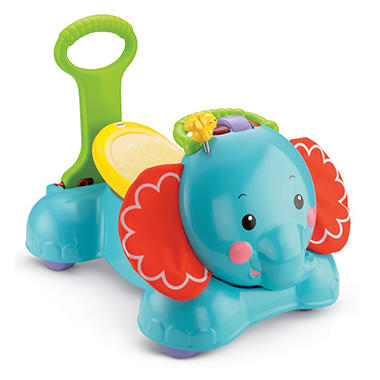Fisher-Price 3-in-1 Sit, Stride & Ride Elephant