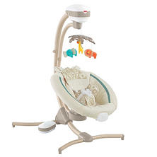 Fisher-Price Soothing Savanna Cradle 'n Swing