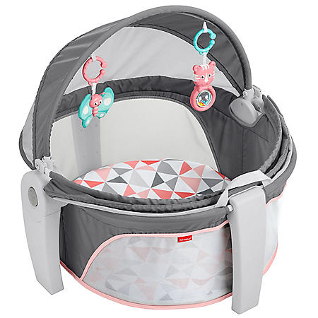Fisher-Price On-the-Go Baby Dome, Pink