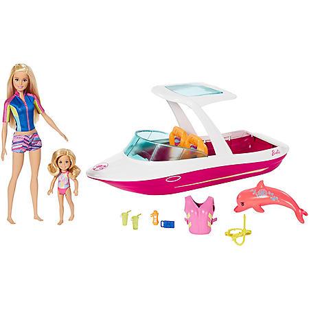 Barbie and Chelsea Ocean View Boat Playset