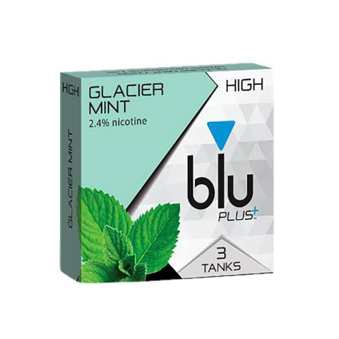 Blu E-Cig Tanks, Glacier Mint (3 tanks)