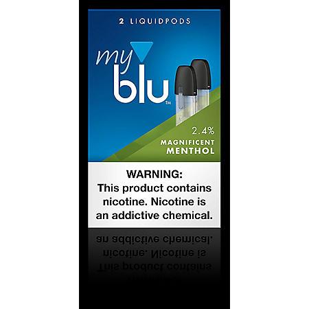 My blu Magnificent Menthol Liquidpod (2 pods, 1 pkg.)