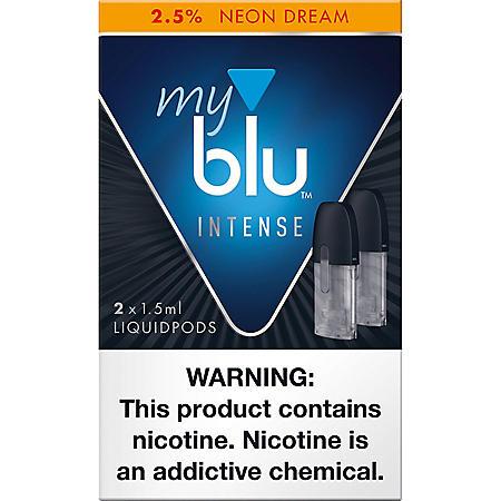 [OFFLINE]delete-My blu Intense Neon Dream 2.5% (2 X 1.5ML Per Pod)
