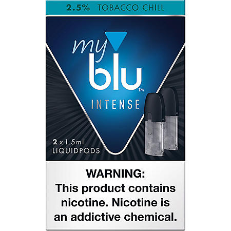 [OFFLINE]delete-My blu Intense Tobacco Chill 2.5% (2 X 1.5ML Per Pod)