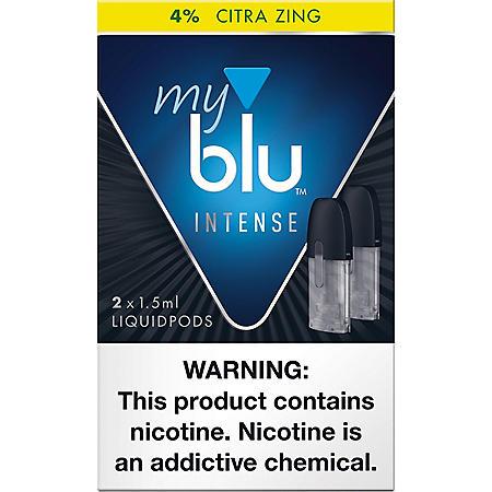[OFFLINE]delete-My blu Intense Citra Zing 4% (2 X 1.5ML Per Pod)