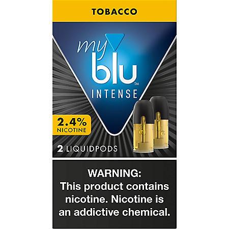 [OFFLINE]delete-myblu Intense Tobacco 2.4% (2 pk., Liquidpods)