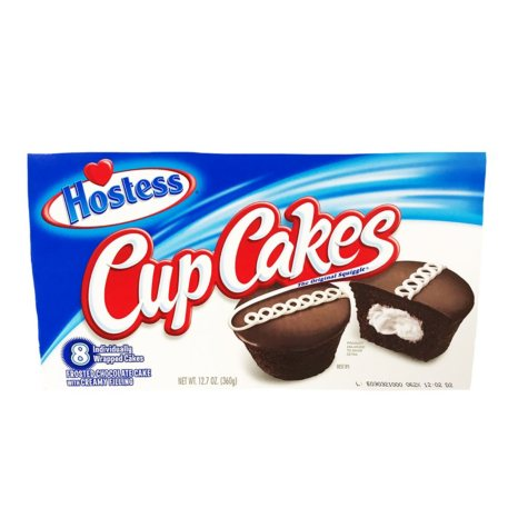 Hostess Chocolate Cupcakes (8 ct.)