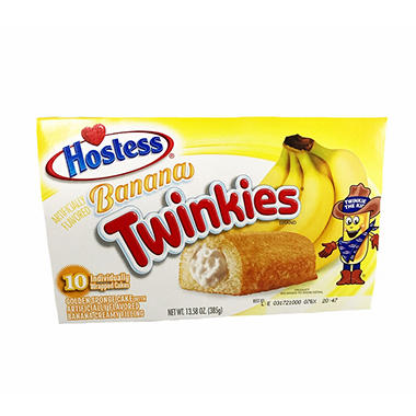Hostess Banana Twinkies (10 ct.)