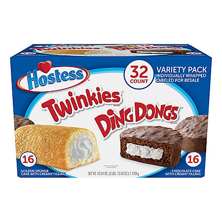 Hostess Variety Pack (32 ct.)