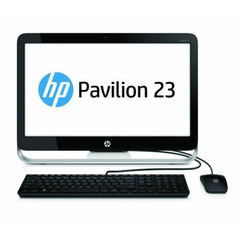 "HP Pavilion 23-g010 23"" Desktop Computer, AMD E2-3800, 4GB Memory, 500GB Hard Drive"