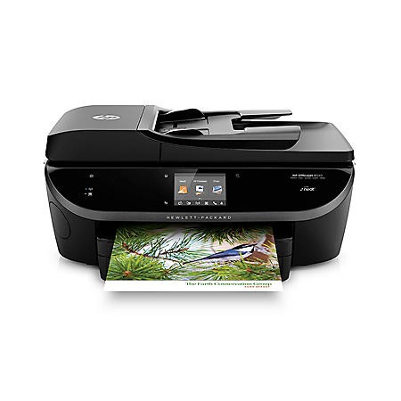 HP Officejet 8040 All-In-One Printer with Neat Organization System included