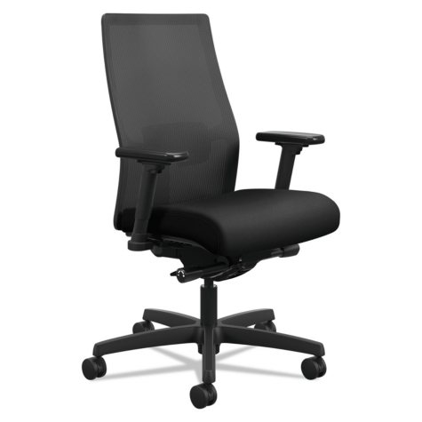 HON Ignition 2.0 Ilira-Stretch Mid-Back Mesh Task Chair (Select Color)