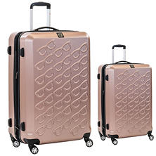 fūl Sunglasses Hard Case Spinner Luggage 2-Piece Set