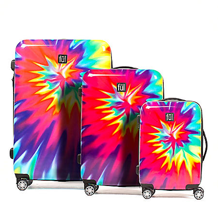 fūl Hard Case Spinner Luggage 3-Piece Set