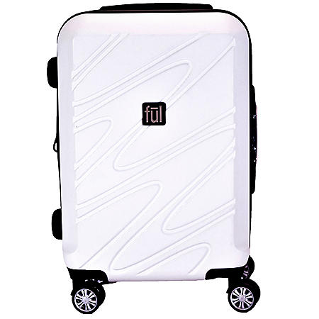 """Ful Scribble Expandable 21"""" Spinner Suitcase"""