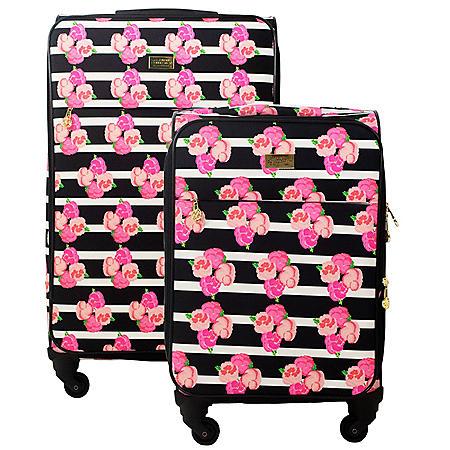 Macbeth Collection Petunia Soft Luggage 2-Piece Set