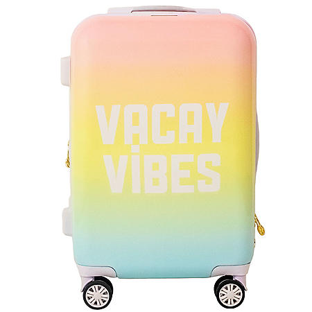 """Macbeth Collection Vacay Vibes 21"""" Spinner Suitcase"""