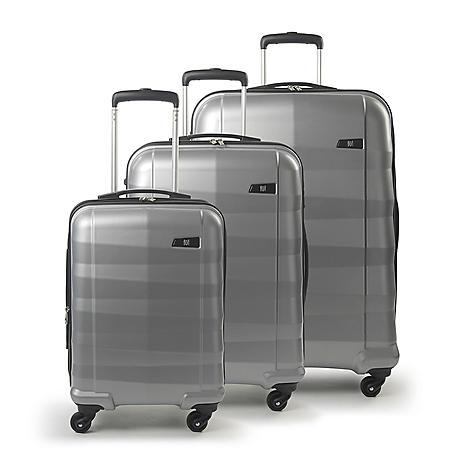 FUL Radiant Series Hardsided 3 Piece Luggage Set