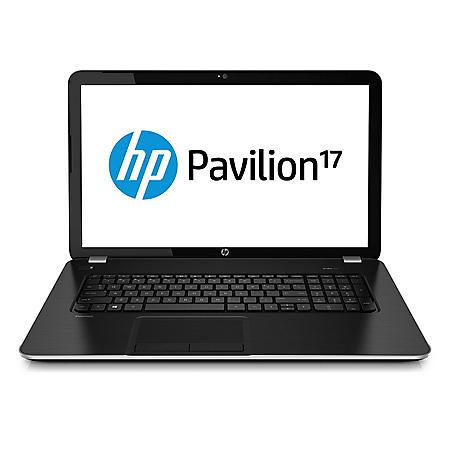 "HP Pavilion 17-f037cl 17.3"" Laptop Computer, AMD A8-6410, 6GB Memory, 750GB Hard Drive"
