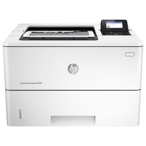 HP - LaserJet Enterprise M506dn Laser Printer