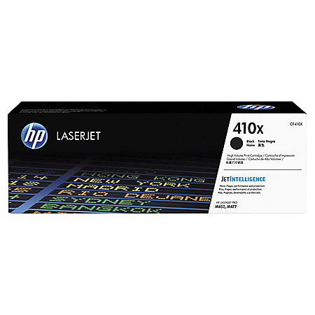 HP 410X High Yield Original Toner Cartridge, Select Color