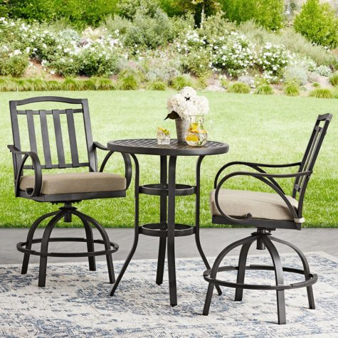 Harbor Hill 3-Piece Counter Height Bistro Set