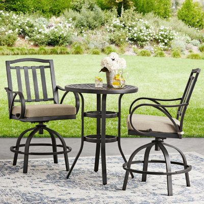 Harbor Hill 3 Piece Counter Height Bistro Set